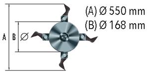 Ротор на шредер TMS